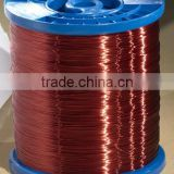 Class F modified polyester enameled round copper wire apply to B class motors appliances instrumentation