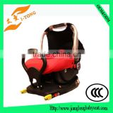 heated baby car seat protector with baby car seat isofix system