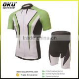 Dry fit sports wear racing cycling jersey and shorts summer cycling gear, bicycle jersey with shorts                                                                         Quality Choice