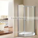 Foshan Lelin aluminum alloy bath shower enclosure cabin vanity with 6mm tempered glass JC-10