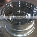 stainless 17x7 steel wheels for all SUV