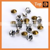 Bulk Glass Point Back Rhinestone stone chaton stone