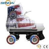 Mesh Boot Quad Roller Skates Shoes For Women Flashing Skating Shoes Sports Shoes For Entertainment