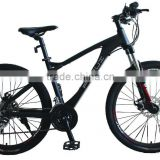 26''mountain bike MTB Bike carbon fiber men's bike alloy frame 18speed mountain bicycle