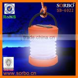 SORBO Most Popular Hand Cranking Dynamo Mini LED Lantern,Multi-function Electric Camping Lantern with Charger China
