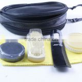 420D polyester,Pu bag shoe polish set/Shoe care kit                                                                         Quality Choice