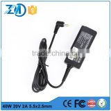 laptop charger parts ac dc power adapter 4 pin connector for Lenovo