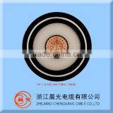 64/110KV High Voltage Cable Single Copper Core Fire Resistant XLPE Insulated PVC Sheathed Power Cable 1*630mm2