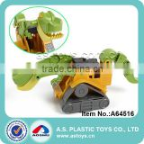 4 models mini plastic battery operate toy shovel loader kid mini excavator