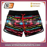 Stan Caleb custom design your own fashion polyester spandex 4 way stretch sublimation surf mens Board Shorts Swim Shorts factory