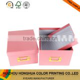 High quality handmade storage paper box office stationery file decoration with school file