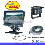 7'' surveillance system IR 120 view angle car rearview camera monitor bus and truck rearview system CS-S7699TMS