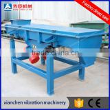 2016 New Factory Electric Linear Vibrating Screen for Screening Pebbles NO Flying Sawdust NO Pollution Sawdust
