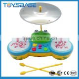2015 magical learning toy,children plastic electric drum set professional