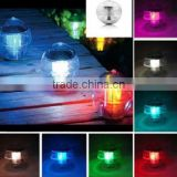 new Solar Power Waterproof Color Changing LED 7 Colors Floating pool light garden