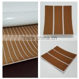 Melors EVA Foam UV Resistant White & Light Brown Marine Boat Teak Flooring Decking Synthetic Teak