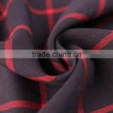 China supplier wholesale 100% polyester spandex blend colorful cheap satin printed fabric for garments and trousers