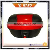 Fast delivery black red motorcycle storeage tail box