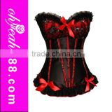 2014 Hot selling wholesale corset tops to wear out shapewear
