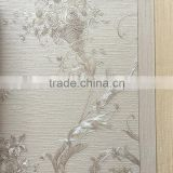 Italian design heavy textured embossed vinyl wallpaper/luxury wallpaper for living room