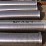 wire wrapped welding screen/johnson screen pipe/wedge wire screen for water drilling
