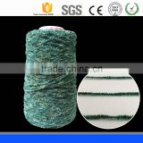 80% Acrylic,20%Polyester Chenille yarn /high twist filament yarn/dyed spun polyester yarn