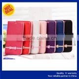 Wallet stand flip Cover for ZTE blade v7 Business Trend style leather case manufacturer