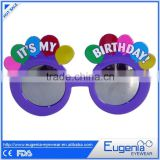 good quality novelty balloon frame mirror lens party sunglasses