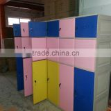 Abs plastic cloth storage assemble fabric wardrobe