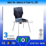 Luxury Elegant Stainless Steel Chair High Quality Acrylic Chair Factory Direct Endurable Modern Dining Chair