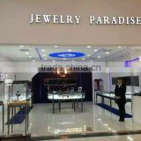 Shenzhen factory derit fashion jewelry display showcase for cartier jewelry