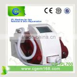 CG-IPL700 New arrival portable epilator ipl home hair removal for face lift effect lasting