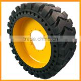 road roller tyre 14/70-20 20.5-25 solid tires for Liugong CLG618A roller with yuchai engine