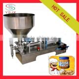 automatic applesauce filling machine / depilatory wax cream filling machine