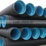 8KN/10KN DWC HDPE Corrugated Pipe For Drain Water