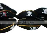 China suppliers custom wool felt pirate hat pattern wholesale for child adult cosplay party events promotional gifts