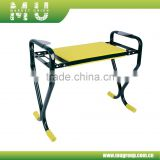 New Foldable Metal garden kneeler/garden seat stool/ knee stool for gardening, home&garden use folding garden stool