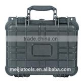 waterproof black plastic tool box/gun box/heavy duty tool box for Camera,shooting things ( mj-5023)