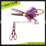 "SK030 8-1/2""Popular colorful heat sealing scissors for kitchen"