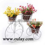 Hot Sale Bicycle Metal Flower Pots For Decorative Garden
