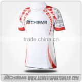 latest Design Custom Made Sublimation Mens Rugby Jersey
