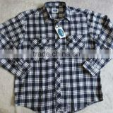Mens checks cotton flannel shirts stock cheap wholesale flannel shirts china gold supplier