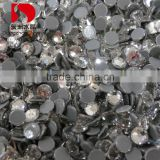 China factory shiny leed free and multi size flat back iron on Rhinestones for wedding dress