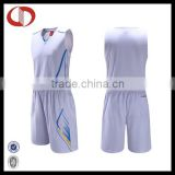 White color basketball jersey uniform design