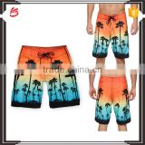 Newest fashion custom made wholesale mens boxer shorts beach shorts printed