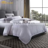 wholesale 100% Cotton 300TC 400TC bed sheet duvet cover comforter mattress pillow case for hotel