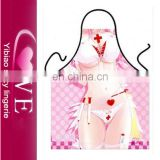 wholesale in China cartoon pattern print cooking apron