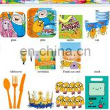 2015 owl birthday party set supplies plastic spoon cup tablecover plate