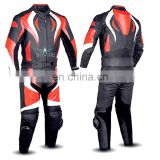 Motor bike Leather Suits/ Leather Motorbike Suit for Men
