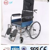 comfortable thickened seat cushion commode wheelchairs for sale